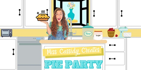 Free, Online Pie Party with Miss Cassidy! tickets