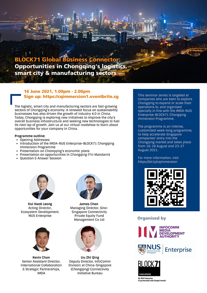 BLOCK71 Global Business Connector: Opportunities in Chongqing image
