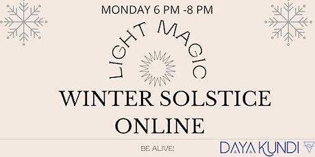 Winter Solstice tickets