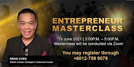 Entrepreneur Masterclass tickets
