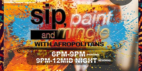 Sip & Paint with Afropolitans Tickets