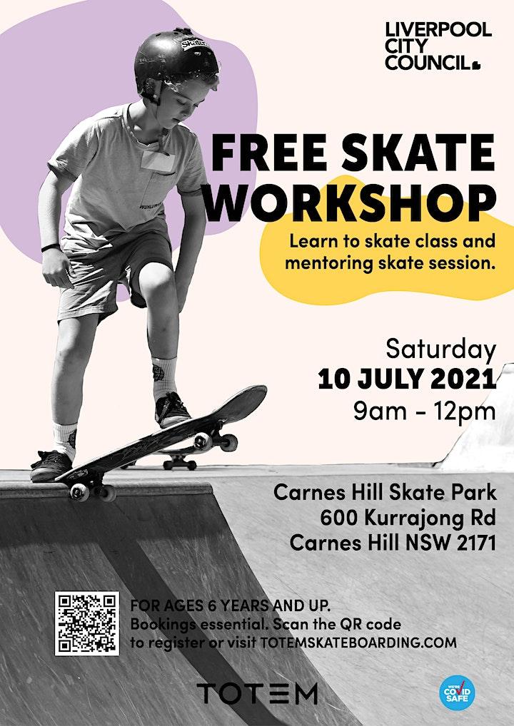 CANCELLED - Carnes Hill Skatepark - Skate Workshop image