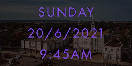 Sunday MASS at 9:45AM -  Holy Cross 20/6/2021 tickets