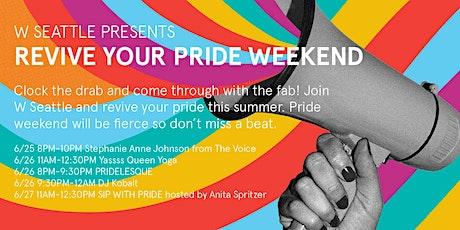 Revive your pride weekend bundle tickets