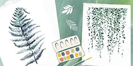 Botanical Watercolor Workshop tickets