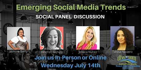 Emerging Social Media Trends entradas