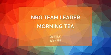 NRG Team Leader Morning Tea tickets
