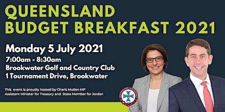 Queensland Budget Breakfast 2021 tickets
