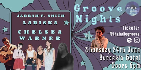 The Indie Groove Presents - Groove Nights June Edition | Get Your Groove On tickets
