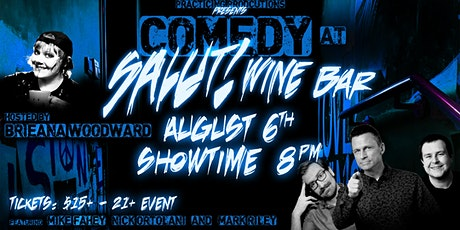 Comedy at Salut! tickets