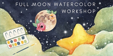 Full Moon Watercolor Workshop tickets