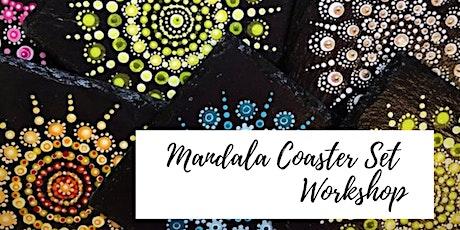 Mandala Coaster Set Workshop tickets