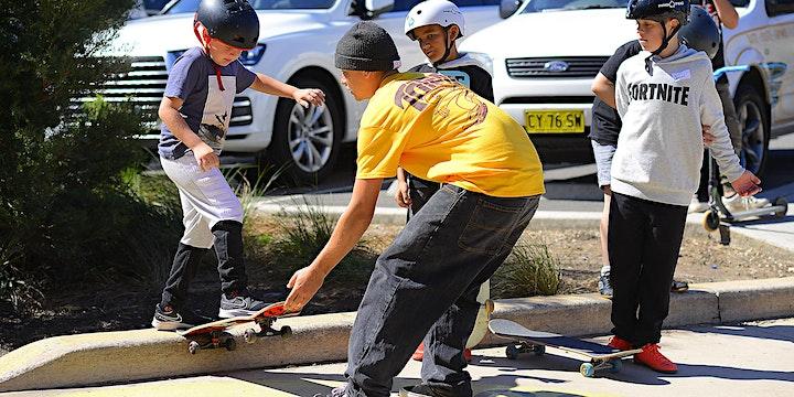 POSTPONED - Dulwich Hill Skatepark - Pro Learn to Skate Classes image