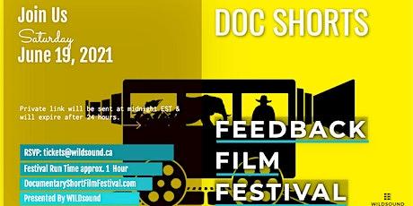 Documentary  Short Film Festival(Free & Virtual) Stream this Saturday tickets