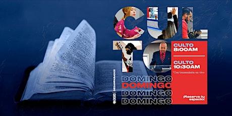 Culto Dominical   20 de Junio boletos