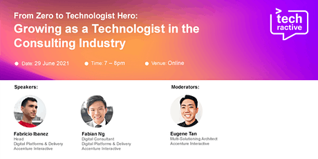 From Zero to Hero - Growing as a Technologist in the consulting industry biglietti