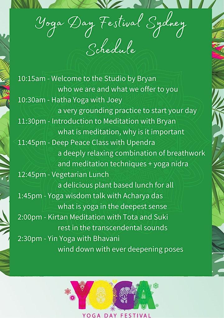 International Yoga Day Festival  & Studio Open Day image