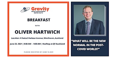Breakfast with Oliver Hartwich tickets