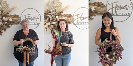 Sold Out -Wreath Workshop (Dried & preserved ) tickets