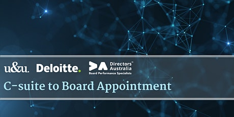 C-suite to Board Appointment tickets