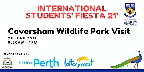 Mini road trip to Caversham Wildlife Park! tickets