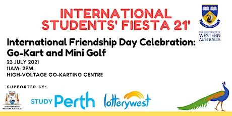 International Friendship Day Celebration: Go-Kart and Mini Golf tickets