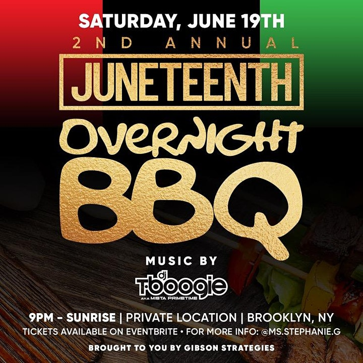 The 2nd Annual Juneteenth Overnight BBQ Celebration image