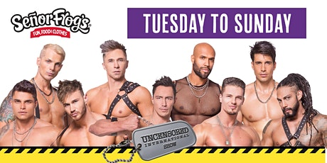 The Uncensored International Show at Senor Frogs - SEE UPDATED EVENT tickets