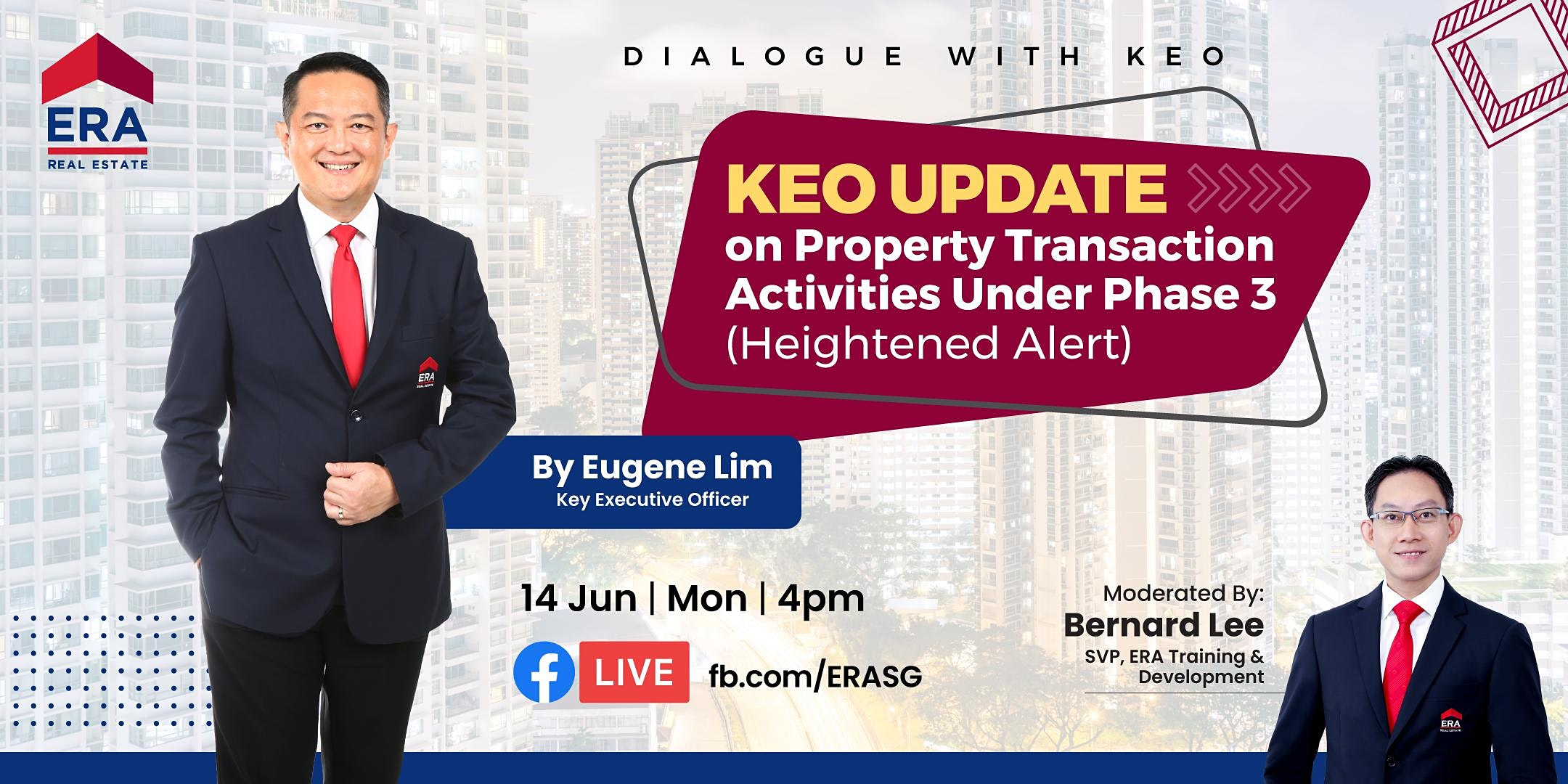 KEO Update on Property Transaction Activities Under Phase 3