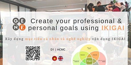 Create your professional & personal goals using Ikigai tickets