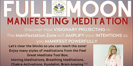 Full Moon Manifesting Meditation Sunny Pittsburgh, PA tickets