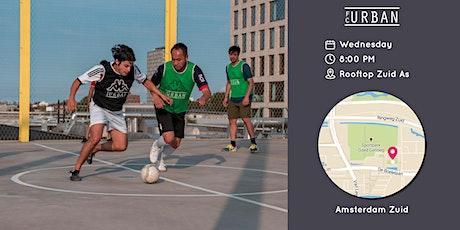 FC Urban Match AMS Wo 23 Jun Rooftop Zuid-As Match 2 tickets