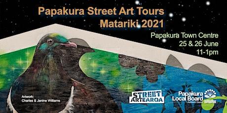 Papakura Street Art Tour tickets