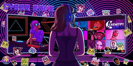 Cyber Rave: Enjoy DJ Sets, Dance & Vibe in Spotlights on ZOOM tickets