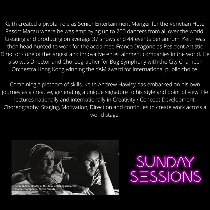 Keith Hawley Creative Industry Workshop image