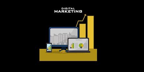 4 Weekends Beginners Digital Marketing Training Course Queens tickets