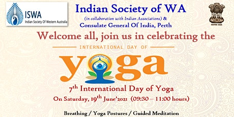 International Day of Yoga Event by  ISWA and CGI, Perth at South Perth, WA tickets