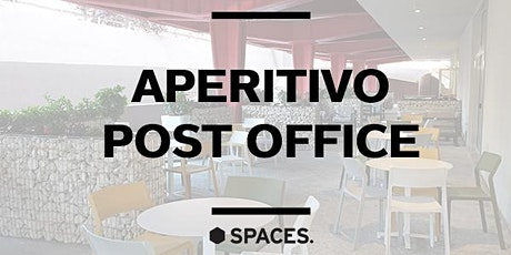 SPACES ARTE | Aperitivo Post Office biglietti