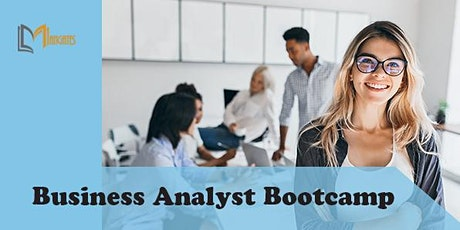 Business Analyst 4 Days Virtual Live Bootcamp in Puebla tickets