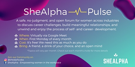 SheAlpha Pulse: Monthly Career- and Self-Development Check-Ins tickets