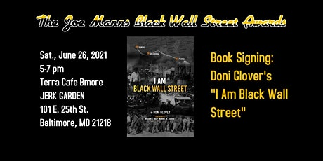 Joe Manns Black Wall Street Awards featuring Doni Glover's New Book tickets
