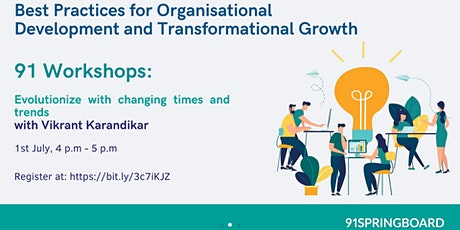 Best Practices for Organizational Development and Transformational Growth tickets