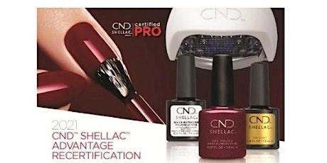 CND™ SHELLAC™ ADVANTAGE RECERTIFICATION tickets