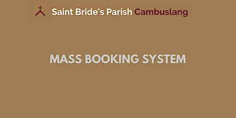 Sunday Mass on 20th June 2021 - 10am tickets
