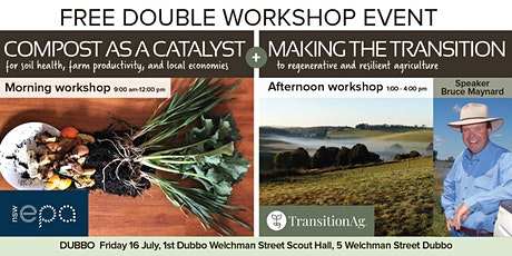 DUBBO: Compost as a Catalyst and Making the Transition tickets
