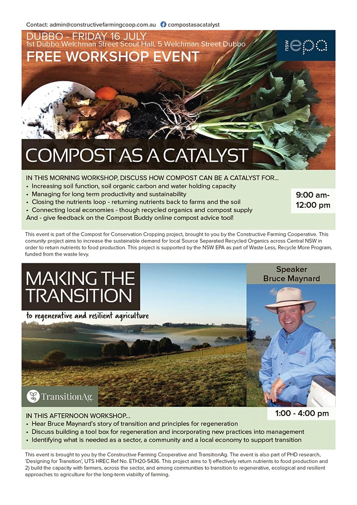 DUBBO: Compost as a Catalyst and Making the Transition image