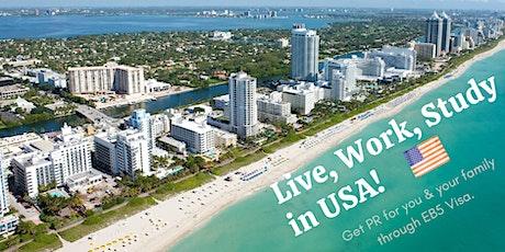 USA EB5 PERMANENT RESIDENCY VISA INFORMATION SESSION tickets