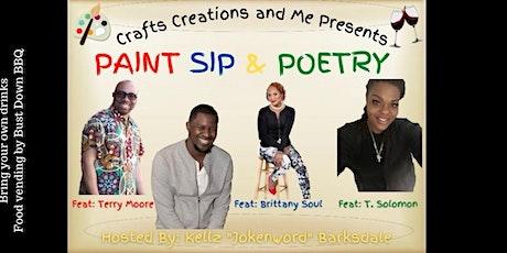 Joken Word,BBQ,  Sip and Paint tickets