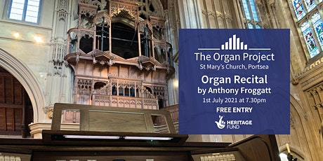 The Organ Project : Organ Recital given by Anthony Froggatt tickets