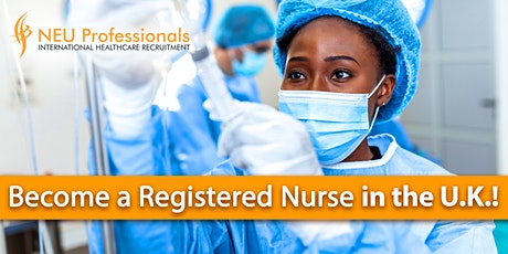 Become a Registered Nurse in the U.K.! tickets